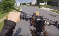 Neuspele motociklistične norčije