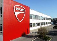 Ducati ponovno korak navzgor