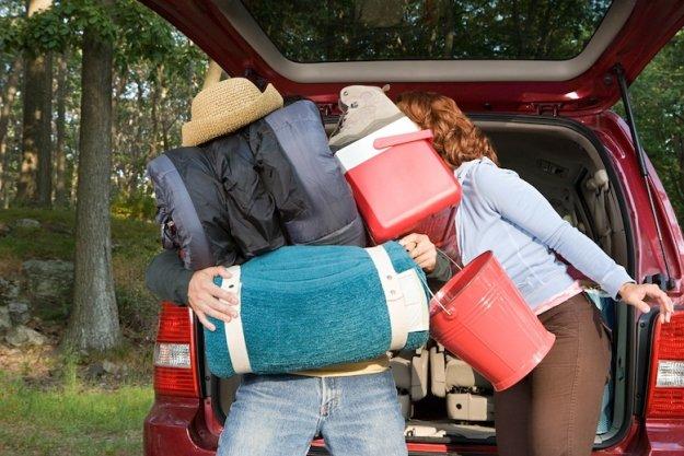 3 pravila, kako naložiti prtljažnik avtomobila