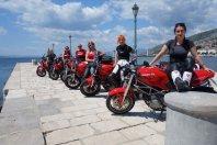 Ducatistke v akciji