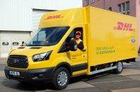 Ford bo sodeloval z Deutsche Post DHL