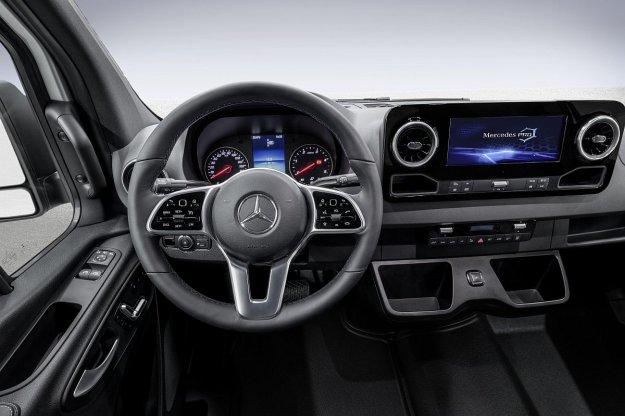 Mercedes-Benz Sprinter tudi z elektriko