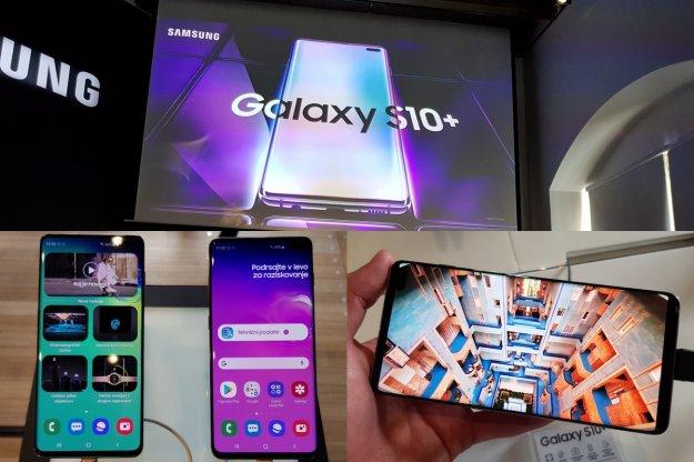 Dru�ina Samsung Galaxy S10 �e v Sloveniji