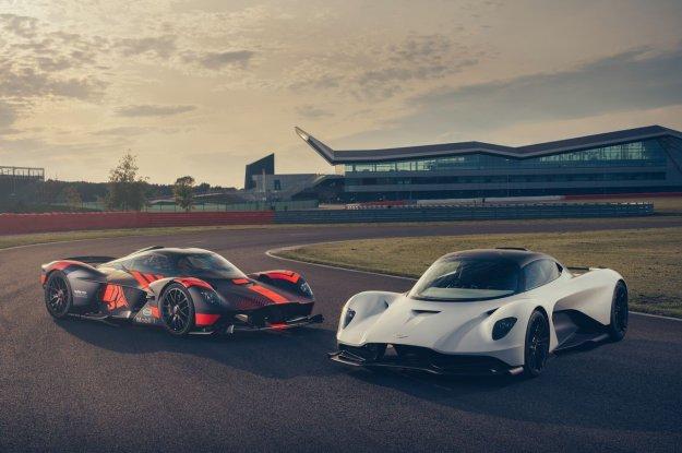 Aston Martin razkriva Valhallo v gibanju