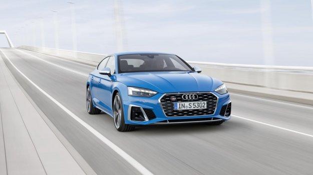 Audi A5 z osveženim videzom in lahkimi hibridnimi motorji