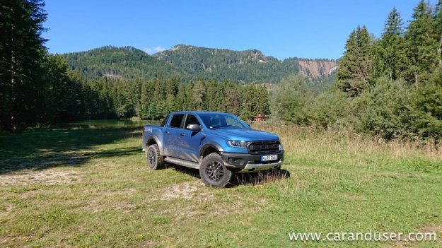 Ford Focus ST in Ranger Raptor