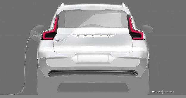 Kmalu: Popolnoma električni Volvo XC40