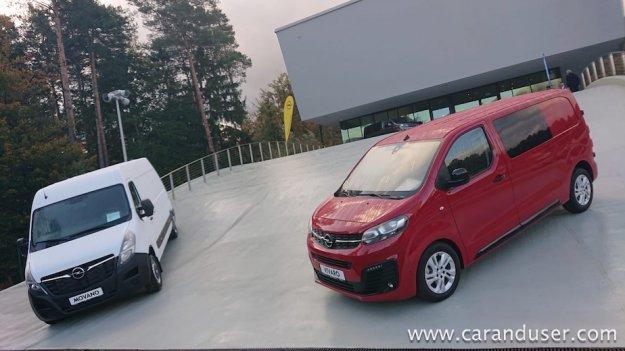 Opel Movano in Vivaro