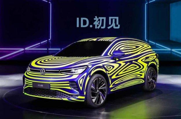 Zakamuflirani Volkswagen ID 4
