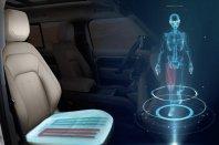 Jaguar Land Rover s sedežem, ki simulira hojo