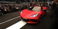 Prva Corvette C8 za osupljivih 3 milijone dolarjev
