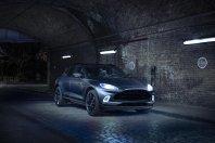 Aston Martin v Ženevo s temačnim DBX