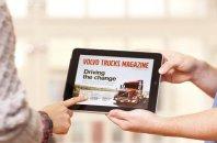 Volvo z novo aplikacijo za poklicne voznike
