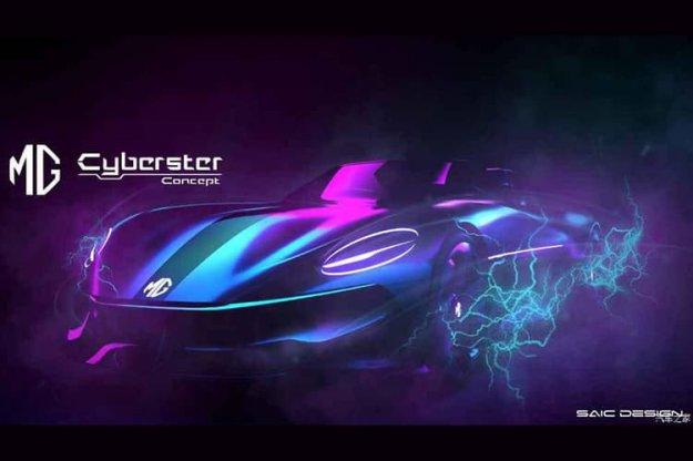 MG-jev konceptni električni roadtser Cyberster