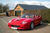 Nižje ne gre: Ferrari 575 Superamerica z manj kot 3.000 prevoženimi kilometri