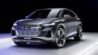 Audi elektrificira dalje: Študija Q4 Sportback e-tron je tu!