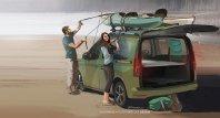 Novi Volkswagen Caddy bo tudi avtodom