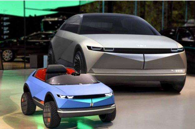 Bo�i?ek pozor: Hyundai razkriva najmanj�ega elektri?arja do sedaj