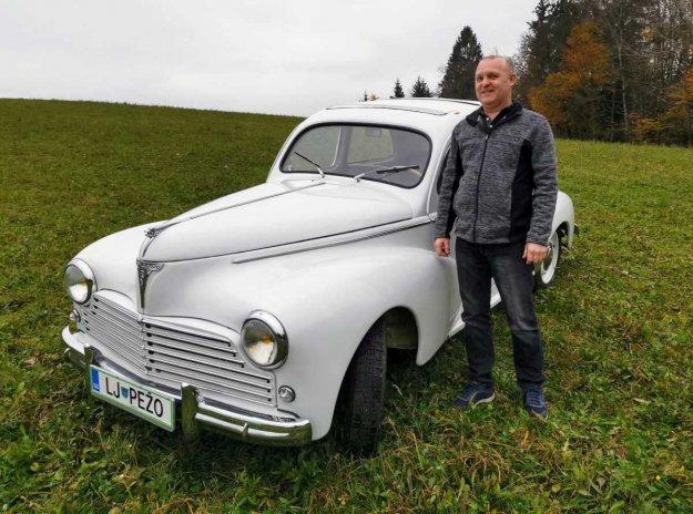 Najstarej�i Peugeot ima skoraj sedemdeset