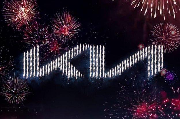 Kia z ognjemetom razkrila nov logotip in slogan