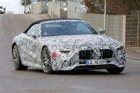 Za odtenek manj zakrit: Mercedes-Benz SL