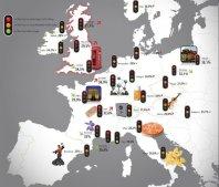 Najbolj obremenjeno mesto v Evropi?