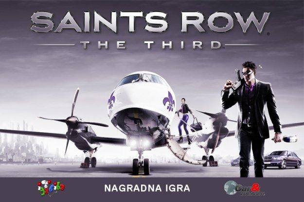 Nagradna igra Saints Row: The Third