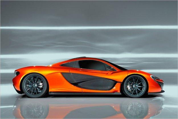 McLaren P1 skoraj nared
