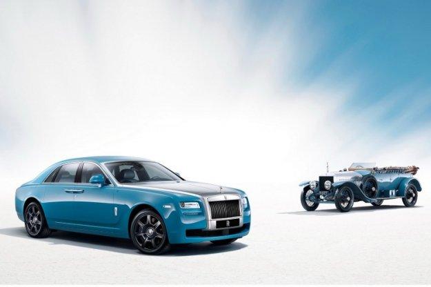 Poseben »alpski« Rolls Royce