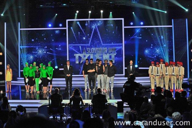 Slovenija ima talent (3. sezona) – 1. polfinalna oddaja