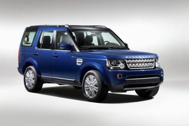 Discovery po sledeh Range Roverja