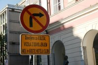 Zaprtje Slovenske ceste …