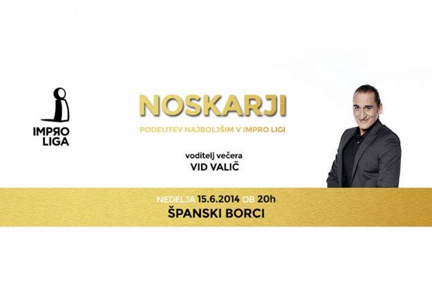 Noskarji - zaključna prireditev Impro lige