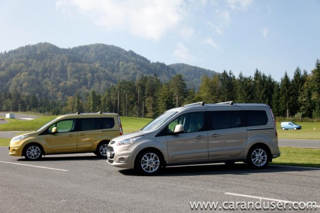 Ford Transit Courier in Ford Tourneo Courier