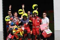 Zbiranje sredstev za motoriste reševalce