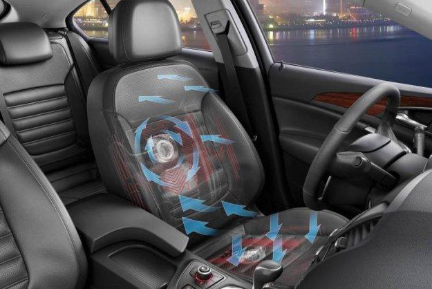 Opel z novimi sedeži