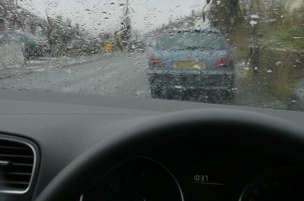Vožnja v dežju