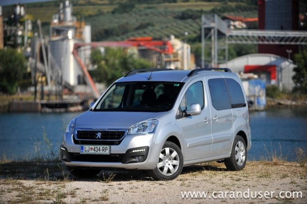 Peugeot Partner tepee 1.6 BlueHDi (2016)