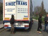 Prevozniki preko Calaisa, pozor!