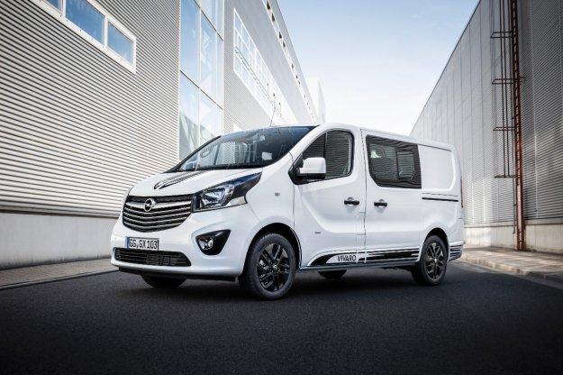 Opel Vivaro Sport že na voljo