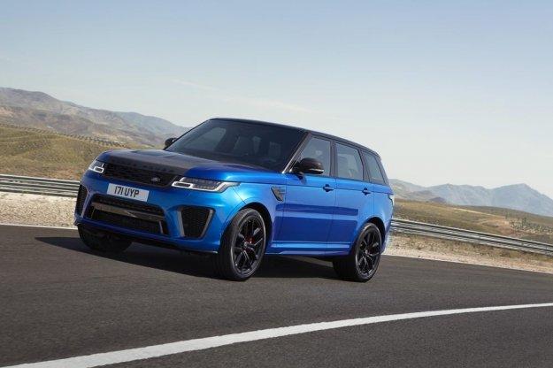 V 2018 še več moči za Range Roverja Sport SVR