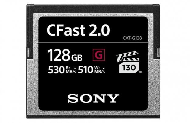 Sony razširil serijo 'G Series CFast'