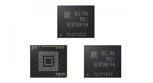 Samsung s proizvodnjo 512-gigabajtnega bliskovnega pomnilnika