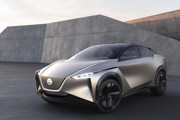Ženeva 2018: Študija Nissan IMx Kuro