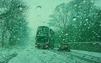 Drift voznika avtobusa …