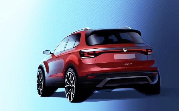Prve skice: Volkswagen T-Cross