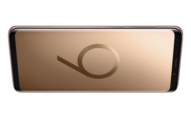 Samsung Galaxy S9 v zlati