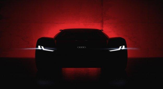 Športno-električni koncept Audi PB e-tron