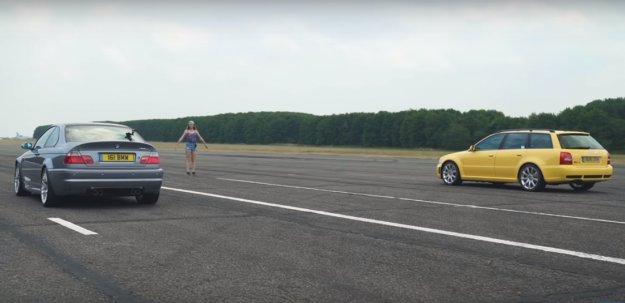 BMW M3 CLS proti Audiju RS4