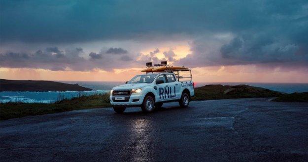 Ford bo podaril kar 210 vozil za zaščito na obali